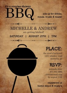 Beyond the Essentials Blog - Co-ed Wedding Showers BBQ Theme